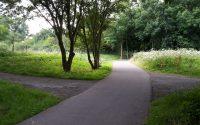 fietspad recreatiegebied Ockenburgh, Den Haag