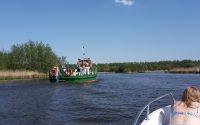 varen tussen de polders